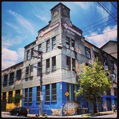 Old Neofarm building, demolished in december 2012
