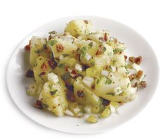 German Potato Salad recipe - a crowd-pleaser at your Oktoberfest party!
