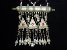 Turkmenische+Tomer-Halskette+von+Melach+auf+DaWanda.com