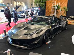 Want to say thank you to everyone who came to visit us at Tokyo Auto Salon Tokyo, Rauh Welt, Liberty Walk, Wide Body, Supercars, Ferrari, Transportation, Racing, Horses