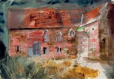 JOHN PIPER, C.H. (1903-1992) FLANESFORD PRIORY, ROSS-ON-WYE