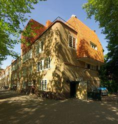 Burgemeester tellegenstraat Amsterdam,  amsterdamse school