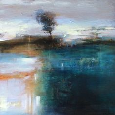 Remaining Steadfast by Joan Fullerton Acrylic ~ 24 x 24