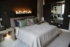 HICKMAN INTERIOR DESIGN's bedroom at the Ritz Carlton Show House featuring the BRADLEY's 'Muffy Bench' in the corner