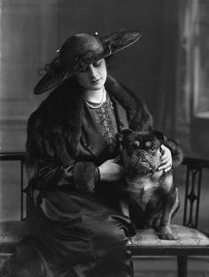 Malvina Longfellow by Bassano, 1918