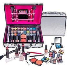 Shop for SHANY Carry-all Makeup Train Case with Pro Makeup and Reusable Aluminum Case. Get free delivery at Overstock.com - Your Online Beauty Products Shop! Get 5% in rewards with Club O!