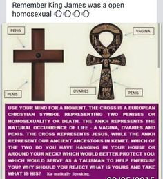 Many different perspectives on what both of these symbols represent, however, the fact remains that one symbol deals with death either through nailing the 'Messiah on a cross or 4rm homosexuality (which eliminates offsprings..adoption does not make the cut) and the other symbol represents life