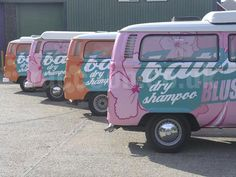 Great vehicle wrap branding - right brand with the right vehicle