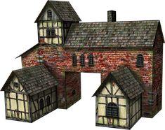 casas medievales - Buscar con Google