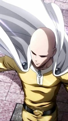 Saitama (one pouch man) One Punch Man 3, Saitama One Punch Man, One Punch Man Anime, Anime One, Anime Manga, Otaku, Saitama Sensei, King Of Fighters, My Demons