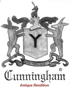 CUNNINGHAM FAMILY CREST - CUNNINGHAM COAT OF ARMS gifts at ...