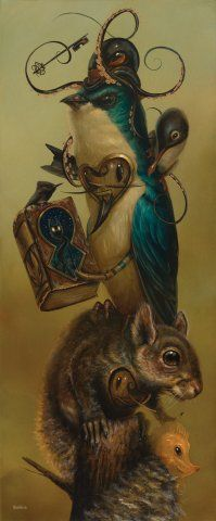 Paintings by Greg 'CRAOLA' Simkins http://www.imscared.com/paintings/