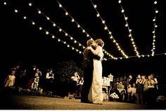 string lighting dancefloor