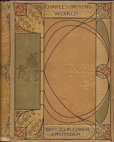 wp. Band ontwerp, cover design Einband Entwurf: Gustaaf Frederik van de Wall Perné (1877-1911), via Flickr.