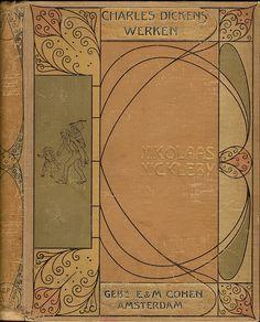 Charles Dickens, Werken.  wp. Band ontwerp, cover design Einband Entwurf…