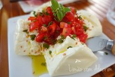 Receita de Burrata