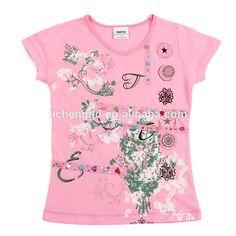 3-8Y (K2673) Hot sale nova kids clothes girls popular style print short sleeves summer kids t-shirts, View Summer kids girl t-shirt, NOVA Product Details from Dongguan Tongxing Garment Co., Ltd. on Alibaba.com
