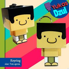 A special thanks to YUKAS, for these original keyrings ON SALE for all the fans of Mayan Adventure!!