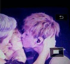 Eunhae KISSED....Finally!!!! I know it's forced and it's not technically real, but my shipper heart still loves it!