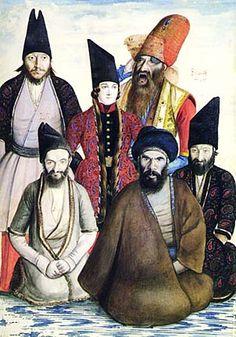 Qajar dynasty, 19th cen. nobles, Iran
