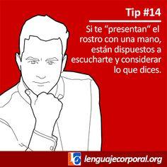 Para saber si te escuchan realmente... #lenguajecorporal
