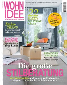 Top 10 Design Magazines | Germany. @wohnidee  See more: http://brabbu.com/blog/2013/07/top-10-design-magazines-germany/