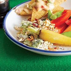 Broccoli Salad Dip - Best Party Appetizers and Recipes - Southern Living