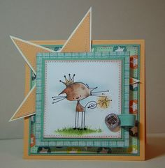 Stamping Bella -- SirFelix KETTO stamp.  Love the star!