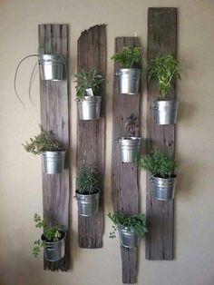 Support pots de fleurs