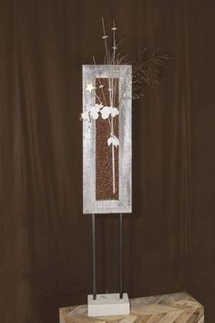 Die Metallständer sind individuell zu dekorieren und können immer wieder verwendet werden