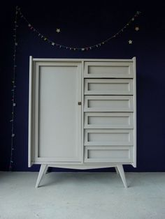 Armoire = dressing+commode années 60