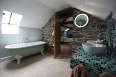 Converted barn, Powys, Wales