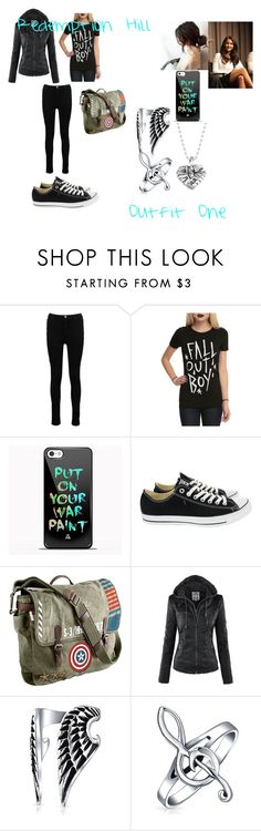 """""""Redemption Hill Outfit One"""" by ktsongwriterrose on Polyvore featuring Boohoo, Samsung, Converse, Marvel, Bling Jewelry and Lagos"""