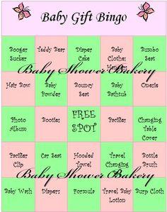 Baby Shower Bingo Game, Printable Girl Baby Shower Game, Instant Download Baby Shower, Baby Shower Gift Bingo, Butterfly Baby Shower