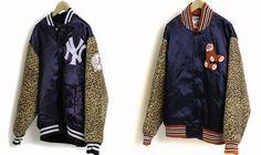 Gourmet x Mitchell & Ness Jackets #LettermanJacket #Gourmet #Xmas http://www.trendhunter.com/
