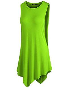 Thanth Womens Womens Soft Jersey Knit Spaghetti Strap Tunic Top Lime Large THANTH http://www.amazon.com/dp/B00YC45W62/ref=cm_sw_r_pi_dp_OsfMwb038SMM3