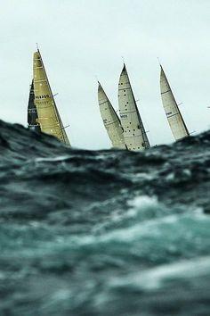 Sydney to Hobart yacht race Beyond The Sea, Sail Away, Set Sail, Am Meer, Tall Ships, Sailing Ships, Sailing Yachts, Sailing Boat, Lighthouse