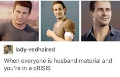 AMEN YES THANK YOU TUMBLR. Uncharted 4