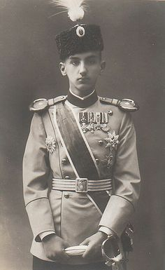 George, Crown Prince of Serbia (27 August 1887 – 17 October 1972) was the older brother of King Alexander I of Yugoslavia and younger brother of Helen of Serbia, son of King Peter I of the Serbs, Croats and Slovenes and Princess Ljubica (Zorka) of Montenegro and grandson of King Nicholas I of Montenegro. He was then proclaimed to be insane and locked in an asylum near the city of Niš.