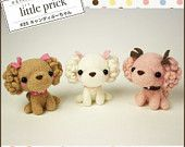 Kawaii Japan Craft Needle Felting Kit : Toy Poodles Trio https://www.etsy.com/listing/183775119/kawaii-japan-craft-needle-felting-kit?ref=shop_home_active_14