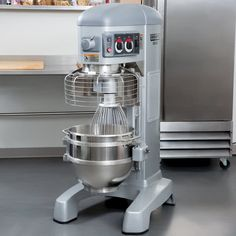 Commercial Planetary Floor Mixer with Standard Accessories - 2 hp Kitchen Mixer, Kitchen Appliances, Stand Mixer Reviews, Hobart Mixer, Commercial Electric, Stainless Steel Bowl, Electrical Connection, Kitchen Helper, Kitchen Equipment