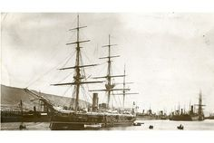But this Royal Navy warship is something of a maritime mystery to Swansea archivists...