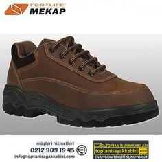 Mekap iş ayakkabısı 042 ALPİNA (VİZON)