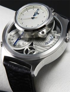 Storm Trilogy Watch - Double Decker Triple Time Zone!