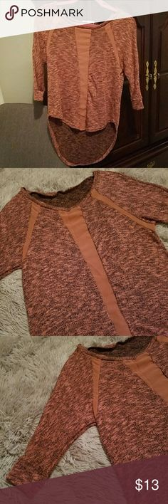 Nordstrom Rack Sweater Light/thin material. hi/low sweater. Never Worn. Lush Sweaters