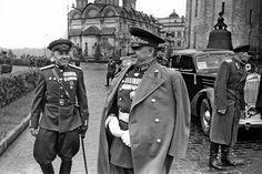 Soviet Victory Parade on Red Square Русский: Парад Победы на Красной площади 24 июня 1945 г