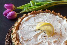 Lemon Lavender Buttermilk Pie