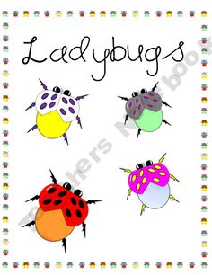 Clipart - Ladybug Graphics to use in Your Projects