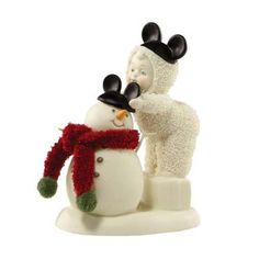 Snowbabies | Snowbabies - Be Like Mickey Too Figurine - 4019982