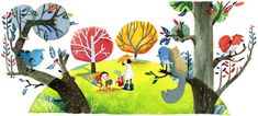 Chinese Arbor Day 2012  Google Doodles                                                                                                                                                                                 More